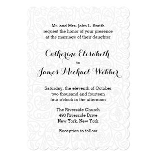 Invitación del boda recibida por los padres de la