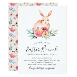 Invitación del brunch de Pascua del Fling de la