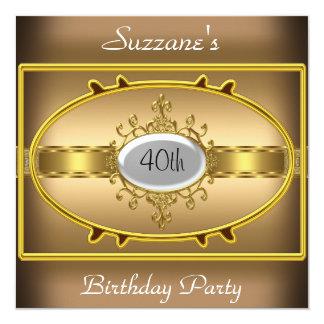 Invitación del caramelo de la fiesta de cumpleaños