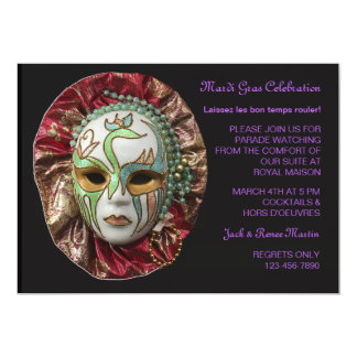 Invitación del carnaval