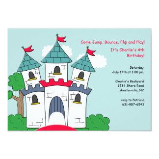 Invitación del castillo de la casa de la despedida