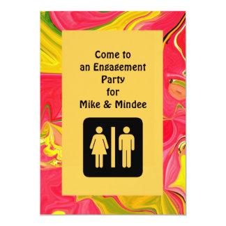invitación del compromiso de la diversión
