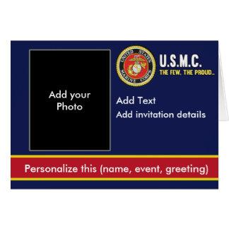 Invitación del Cuerpo del Marines