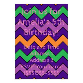 Invitación del cumpleaños de Chevron