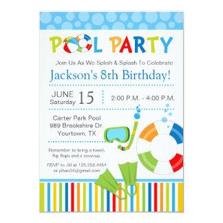 Invitación del cumpleaños de la fiesta en la