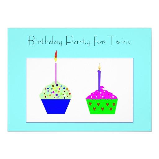 Invitación del cumpleaños de la magdalena de los g