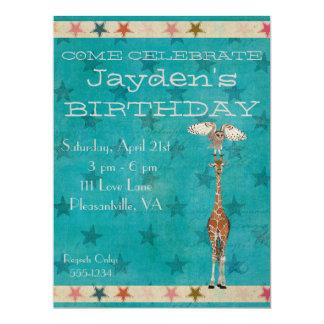 Invitación del cumpleaños de los PUNTOS y de las