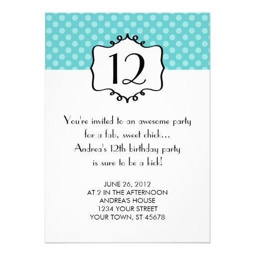 Invitación del cumpleaños del adolescente de los l