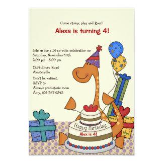 Invitación del cumpleaños del fiesta del