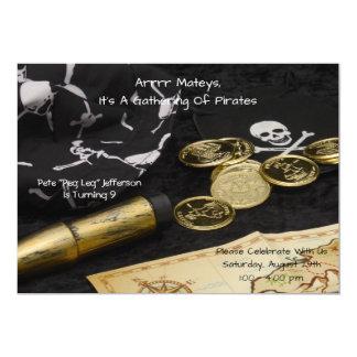 Invitación del cumpleaños--Pirata