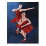 Invitación del decreto de la danza postales