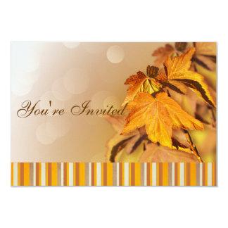 Invitación del día de la acción de gracias