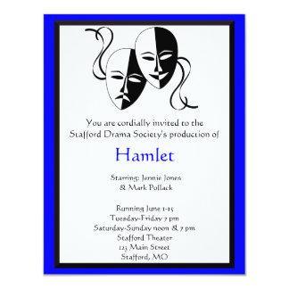 Invitación del drama y del teatro
