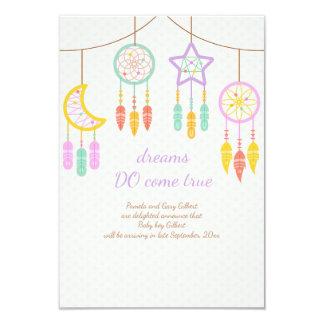 Invitación del embarazo de Dreamcatcher del bebé