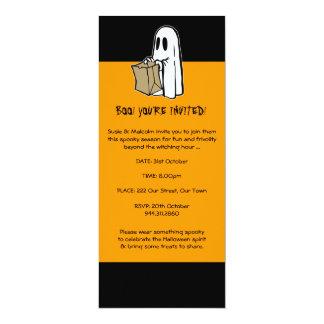 Invitación del fantasma de Halloween