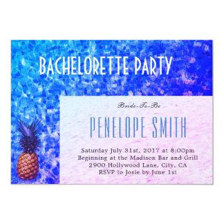 Invitación del fiesta de Bachelorette -