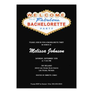 Invitación del fiesta de Bachelorette de la