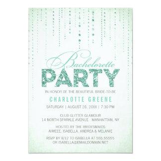 Invitación del fiesta de Bachelorette de la mirada