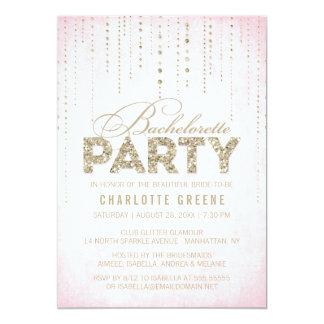 Invitación del fiesta de Bachelorette de la mirada Invitación 12,7 X 17,8 Cm