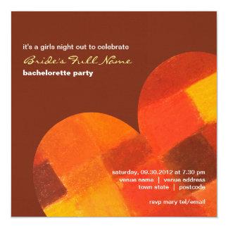 Invitación del fiesta de Bachelorette del pueblo