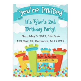 Invitación del fiesta de casa de la despedida