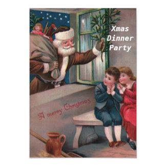 Invitación del fiesta de cena de navidad 2
