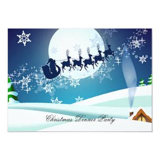 Invitación del fiesta de cena de navidad 3