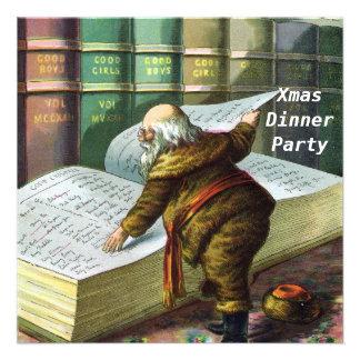 Invitación del fiesta de cena de navidad 5