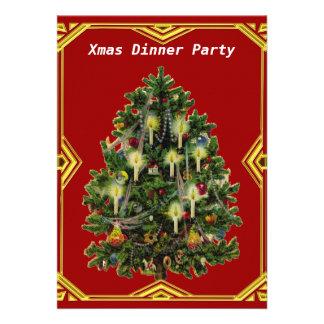 Invitación del fiesta de cena de navidad 7