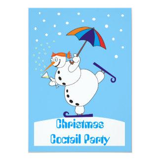 Invitación del fiesta de Coctail del navidad