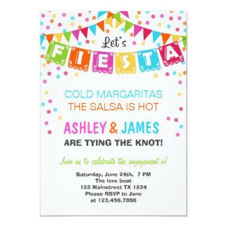 Invitación del fiesta de compromiso de la fiesta