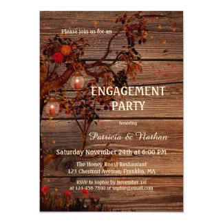Invitación del fiesta de compromiso de las