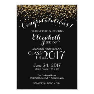 Invitación del fiesta de graduación de estudios