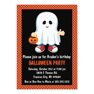 Invitación del fiesta de Halloween de los niños