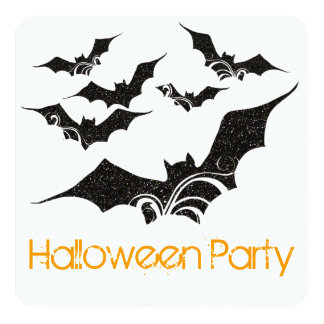 Invitación del fiesta de Halloween de los palos