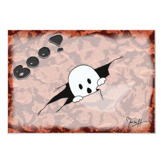 Invitación del fiesta de Halloween - fantasma