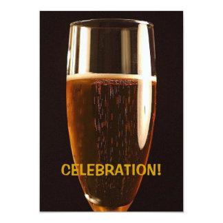 Invitación del fiesta de la celebración