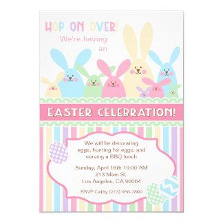 Invitación del fiesta de la celebración de Pascua