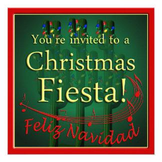 Invitación del fiesta de la fiesta del navidad