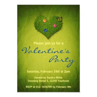Invitación del fiesta de la hierba de la tarjeta