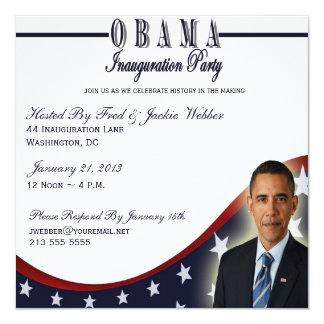 Invitación del fiesta de la inauguración 2013 de