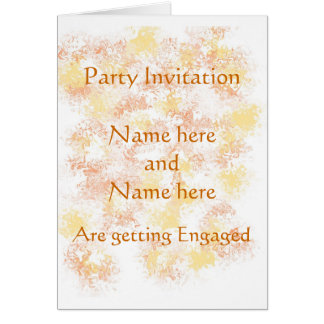 Invitación del fiesta de la invitación del tarjeta de felicitación