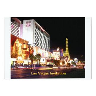 Invitación del fiesta de Las Vegas