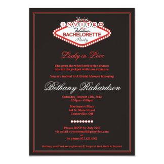 Invitación del fiesta de Las Vegas Bachelorette