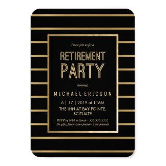 Invitación del fiesta de retiro - personalizar,