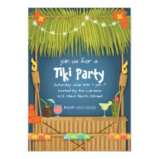 Invitación del fiesta de Tiki