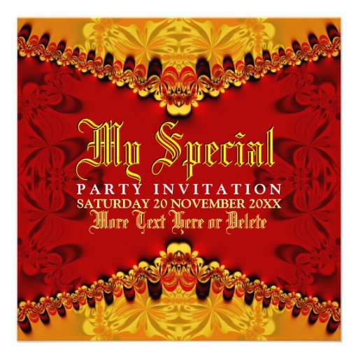 Invitación del fiesta del arte de la selva de Orie