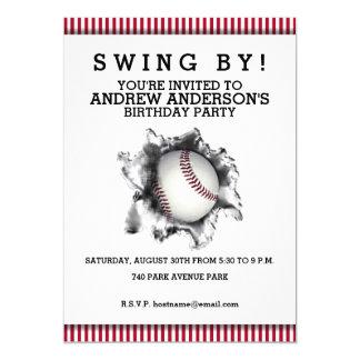 Invitación del fiesta del béisbol