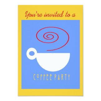 Invitación del FIESTA del CAFÉ