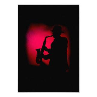 Invitación del fiesta del carnaval del Jazzman